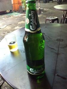 カールズバーグのビール