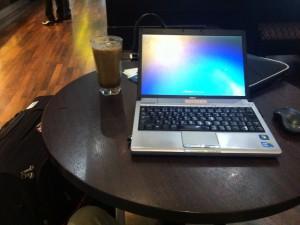 クアラルンプール空港 カフェ ネット