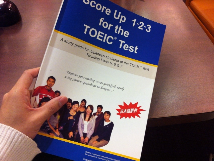「Score Up 1-2-3 for the TOEIC(R) Test」の感想・レビュー ②