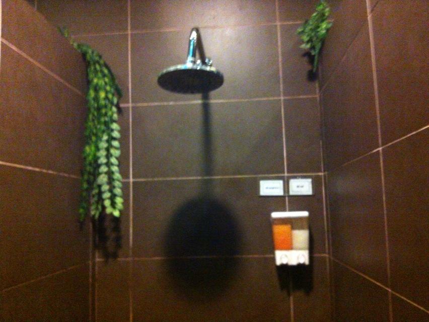 チャンギのシャワー