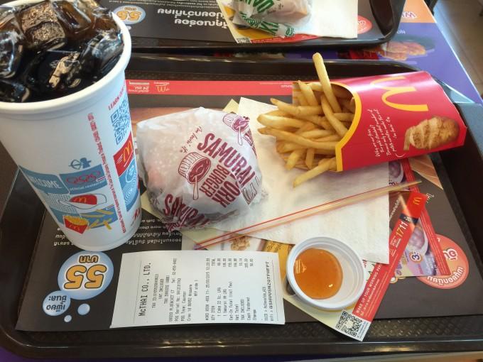 タイ オリジナル マクドナルド