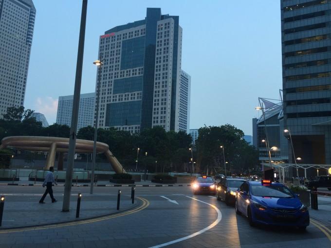 シンガポールへの海外出張