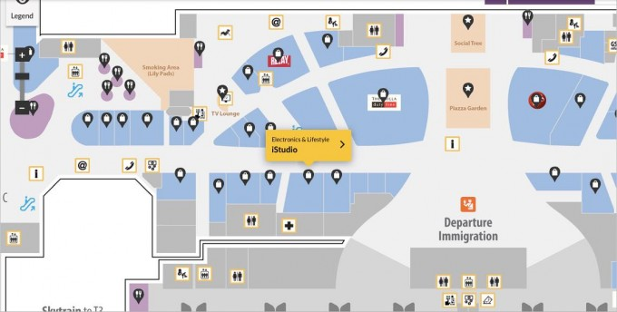 Terminal 1 Apple Store Changi Airport