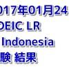 【海外でのTOEIC】 インドネシアでのTOEIC受験 結果 (7回目)