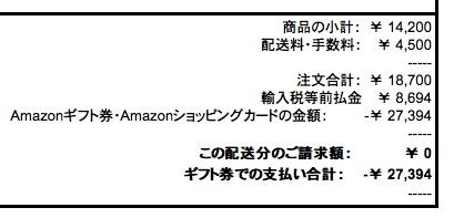 AmazonGlobal海外配送のコスト・リードタイムは