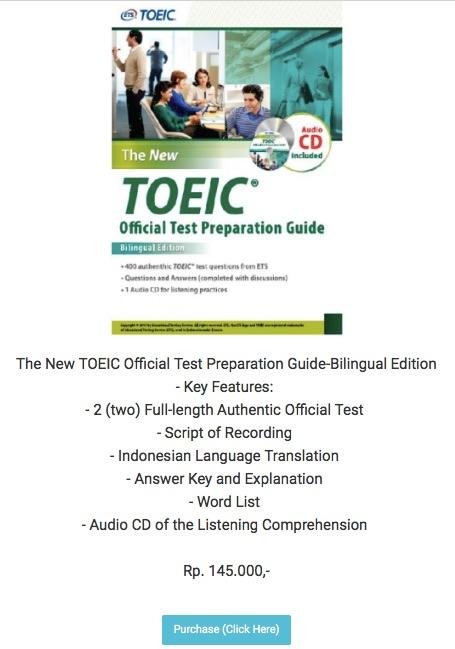 「新形式 TOEIC L&Rガイドブック」が発売された