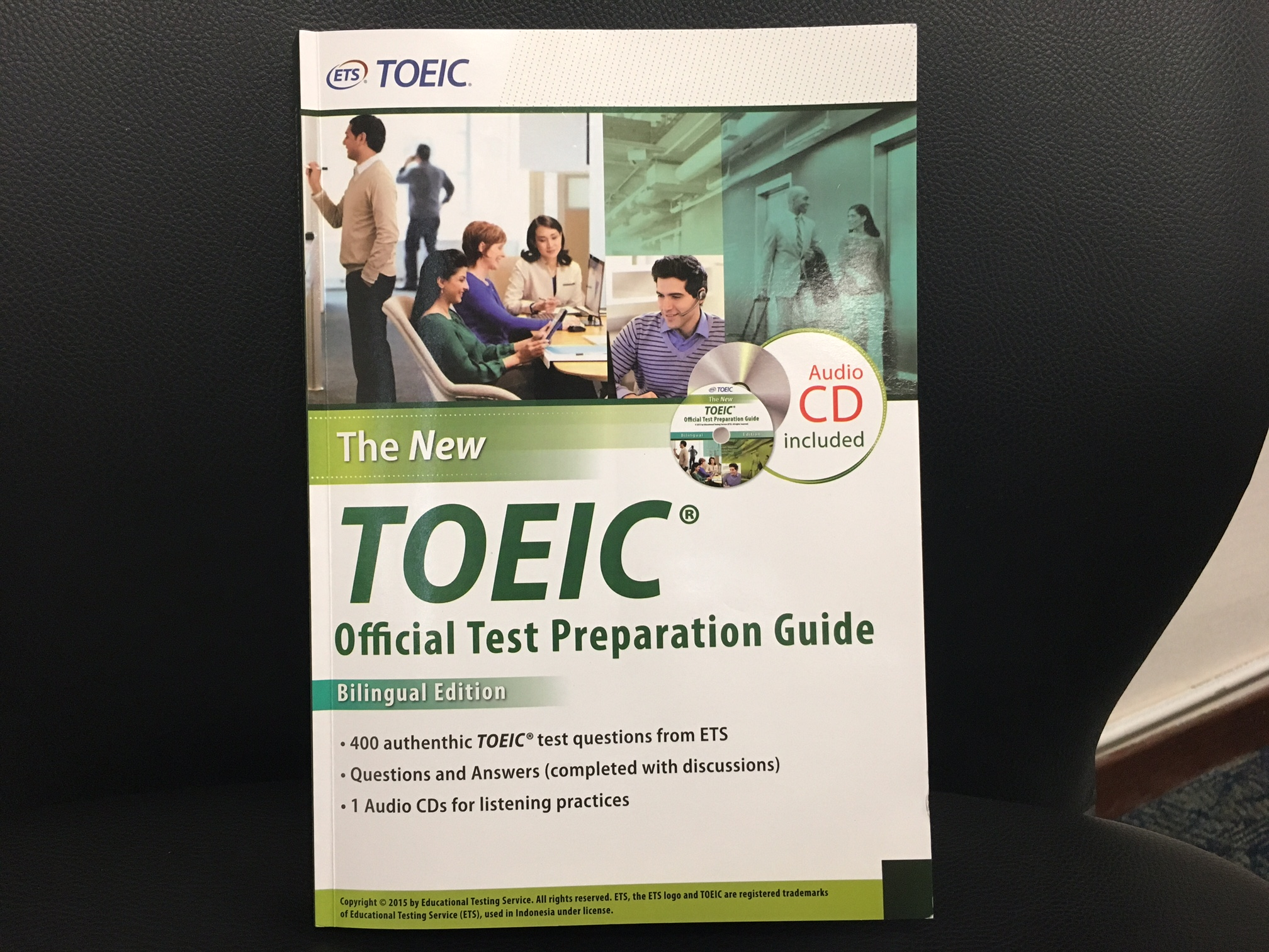 """The New TOEIC Official Test Preparation Guide""の感想・レビュー"