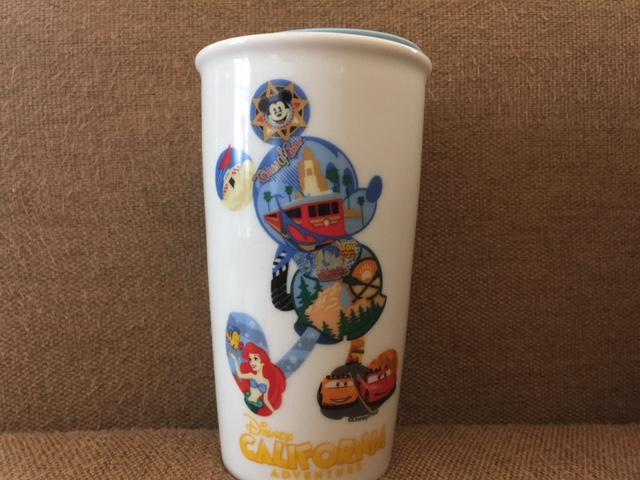 アメリカ カリフォルニアのディズニー限定のスタバマグ・タンブラーを買ってきた!